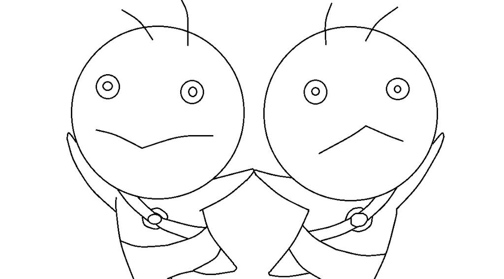 Fairy tail gemini coloring page by thewritinggamer on for Gemini coloring pages