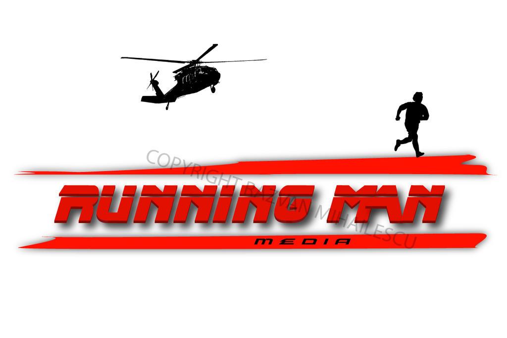 Running Logo Images Running Man Media Logo by