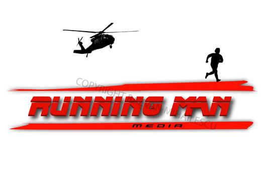 Running Man Media Logo