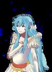 Fire Emblem Awakening style portrait: Eirika
