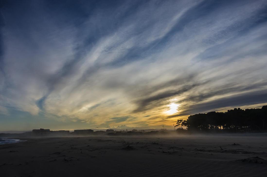 Beach at L'Estartit by cscabr