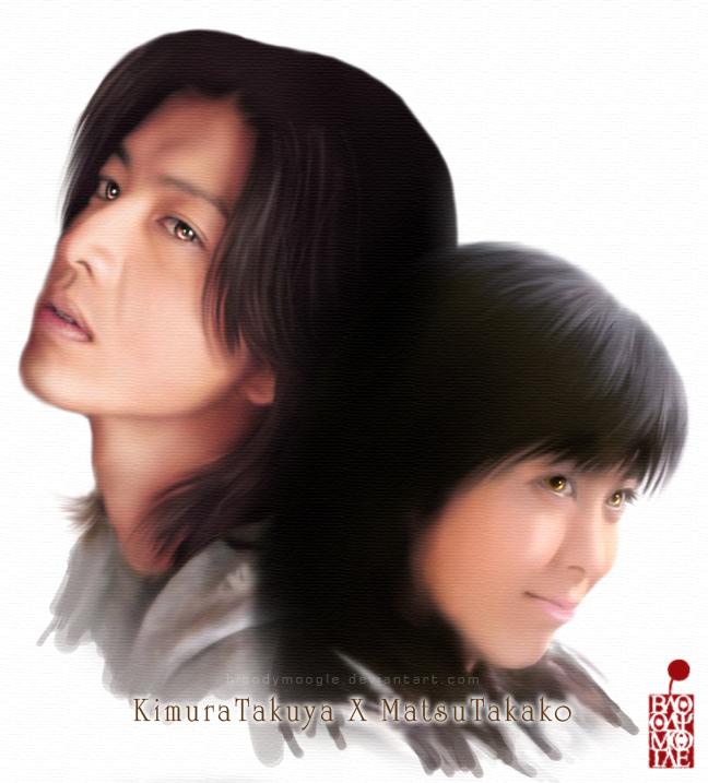 Kimura Takuya X Matsu Takako