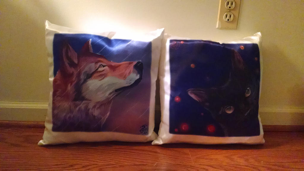 Nojjesz Pillows by ZShellArt