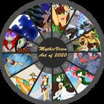 MythicVixen - Art of 2020