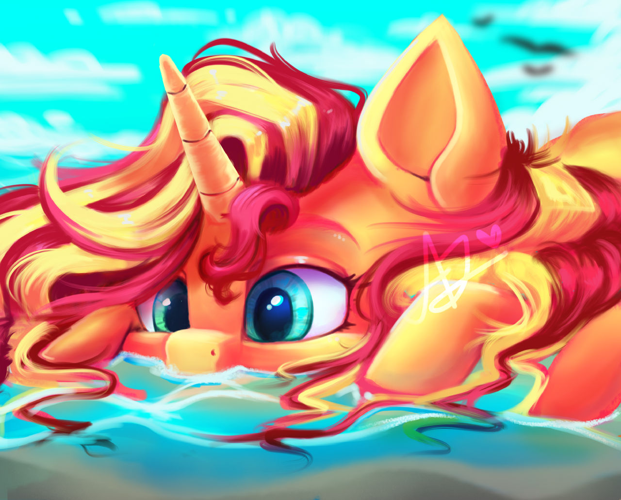 [Obrázek: a_beautiful_sunset_on_the_water_by_thewi..._B-3M0S2V4]