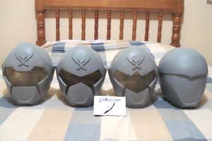 Gokaiger Helmet Replicas 3 by Miiyamoto