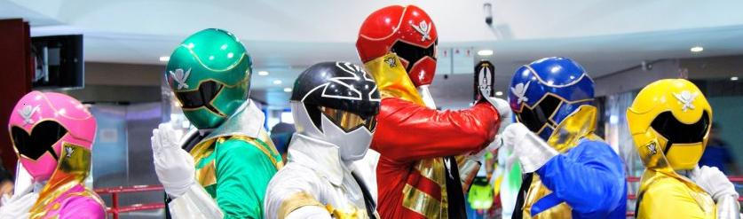 Gokaiger all 6 helmets made by me!
