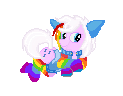 Pixel pony for iRoxykun by SammyJackles
