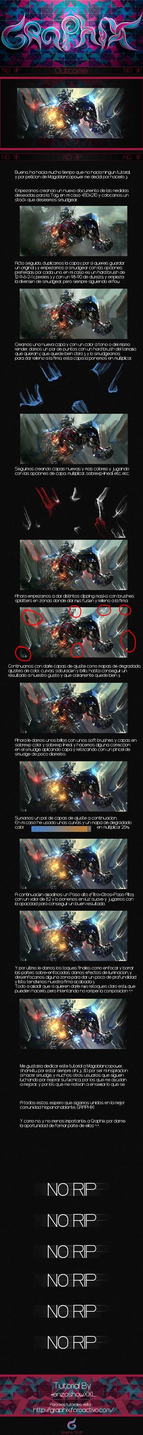 Optimus Prime Smudge tutorial by enzOSHOW