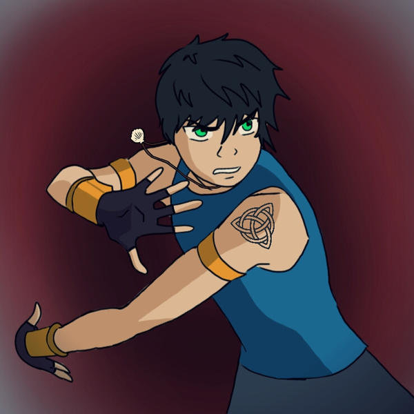 Percy Jackson Bloodbender by Felicof on DeviantArt