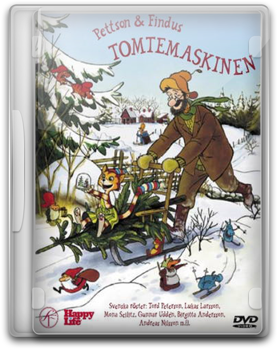 Pettson Och Findus - Tomtemaskinen by Movie-Folder-Maker
