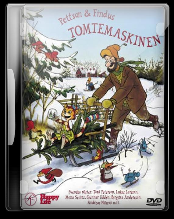 Pettson Och Findus - Tomtemaskinen by Movie-Folder-Maker