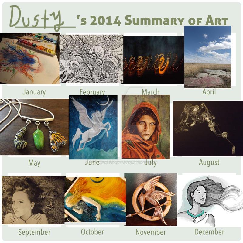 2014 Summary of Art. by Dustywallpaper