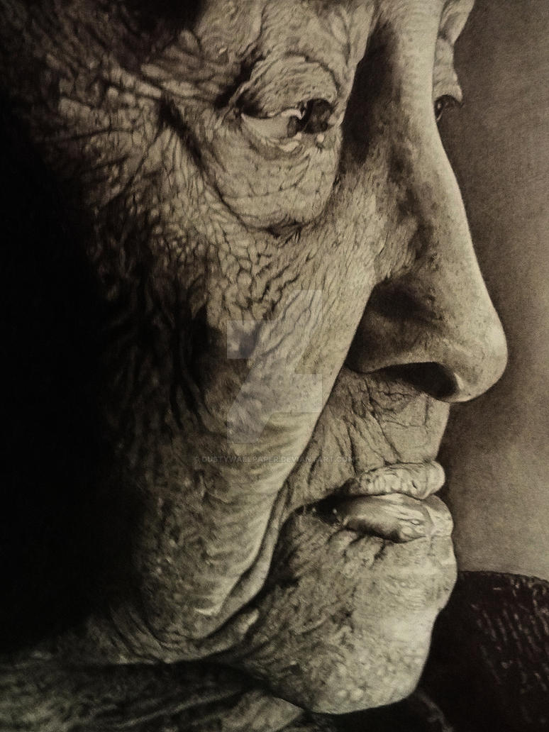 -Untitled- pencil drawing. by Dustywallpaper