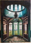 Untitled oil painting Interior.