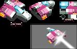 Low poly F-Zero racer