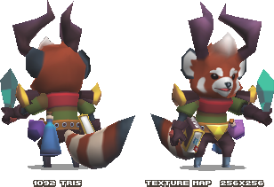 Red Panda Druid by KennethFejer