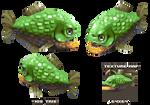 Lowpoly Piranha