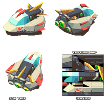 Lowpoly Hover Racer
