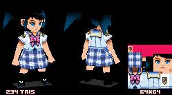 DS schoolgirl
