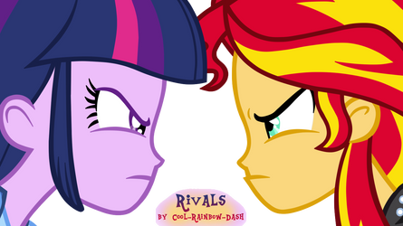 Rivals by Cool-Rainbow-Dash