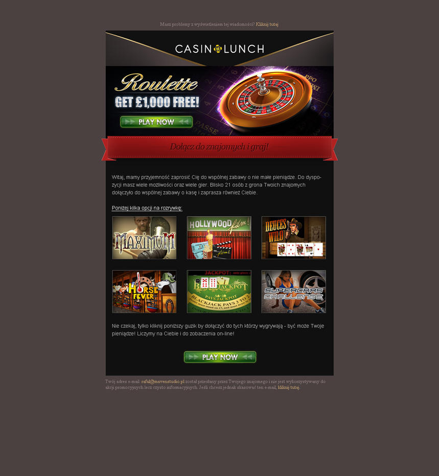 casino newsletter
