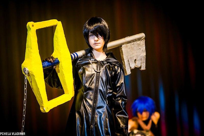 Xion cosplay kingdom hearts! by namine903 on DeviantArt