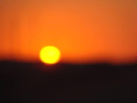 Hot Egypt Sunset