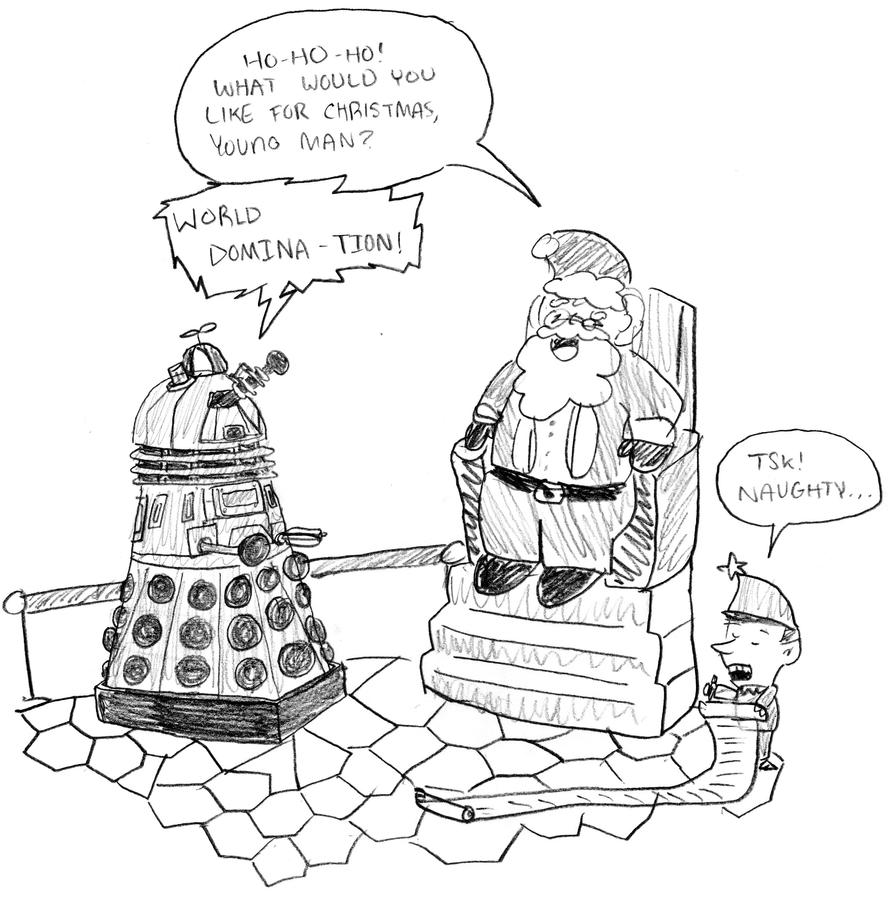 A Dalek Christmas by jebug29 on DeviantArt