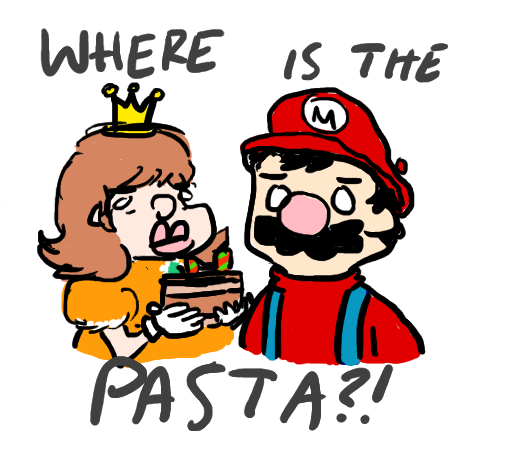 WHERE IS THE PASTA by jebug29