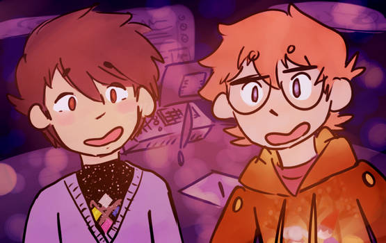 Caleb and Yuu are my new credit card background
