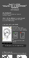 Drawing on a smartphone tutorial