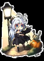 Happy Halloween Yukari by Twai