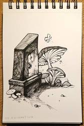 Inktober 24 - Enchanting