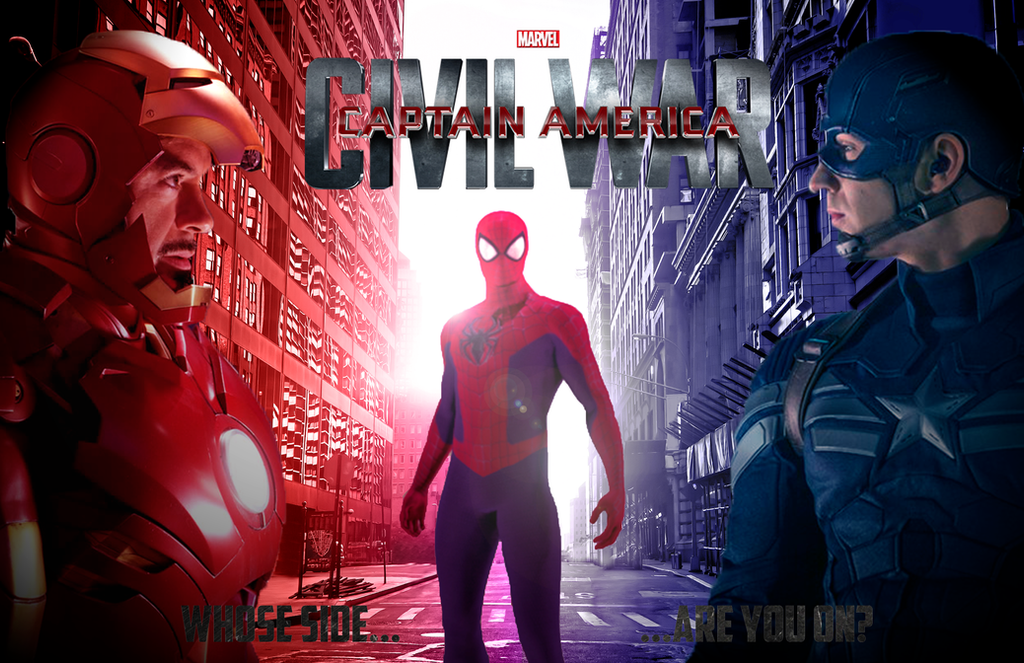 Captain America Civil War Poster By 50PSP On DeviantArt