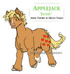 MLP G1 - Applejack by whiteGuava