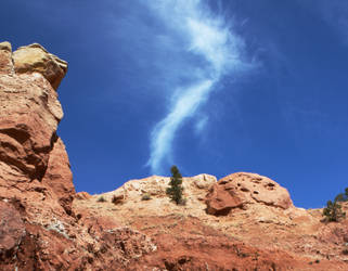 rock and cloud by agent229