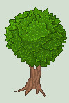 Pixel Tree by Palliak