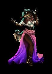 High Priestess by Sausagewolf