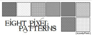 Eight Pixel Patterns