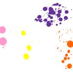 MS Paint Friendly Splatters 2 by xLovely-Pixels