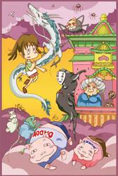 Chihiro's Adventure by jujun