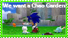 We want  a Chao Garden!! (stamp) by sonicforever1998