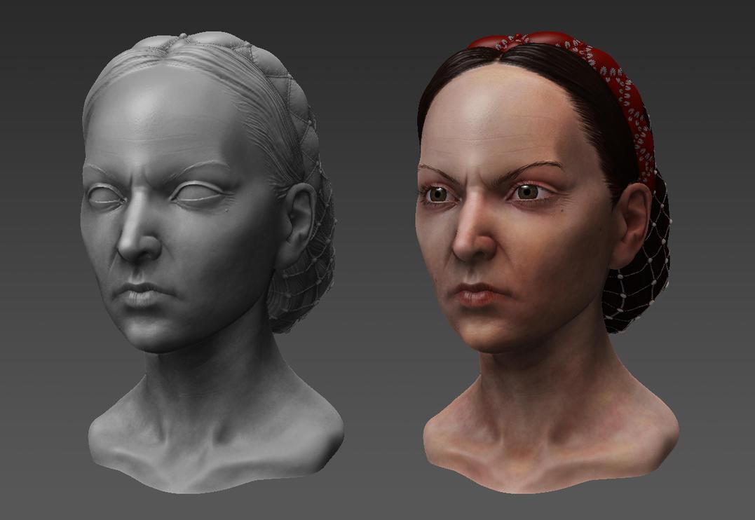 Countess Elizabeth Bathory by RedHeretic