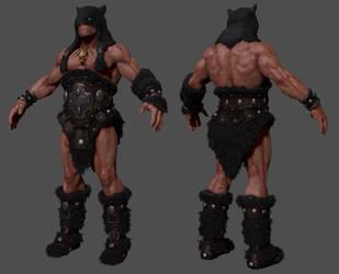 Darkwolf WIP by RedHeretic