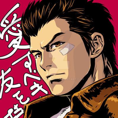 Shenmue ~Ryo Hazuki~ by kamiomutsu