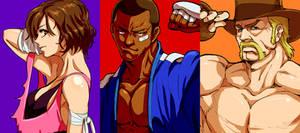 Jiggeh's Fighting Game Characters WIP2