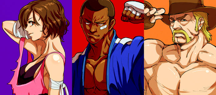 Jiggeh's Fighting Game Characters WIP2