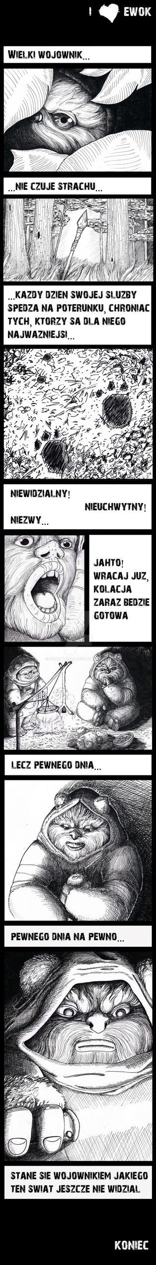 ewok by skowyt1990