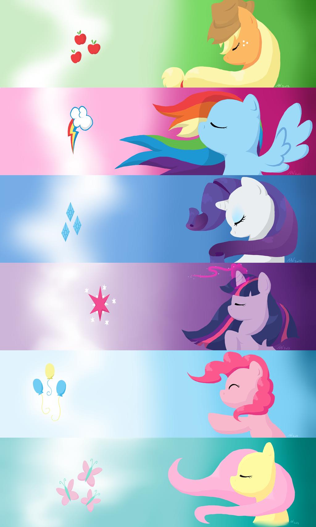 The Unity of Six by BubblyBlackbird